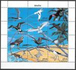 Мальдивы 1993 год, Птицы, малый лист