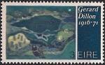 Ирландия 1972 год. Современное искусство. 1 марка