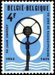 Бельгия 1973 год. 50 лет Бельгийскому радиовещанию. 1 марка
