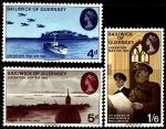 Гернси (Великобритания) 1970 год. 25-я годовщина освобождения от фашистов. 3 марки