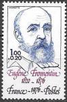 Франция 1976 год. Французский художник Эжен Фромантен. 1 марка