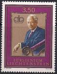 Лихтенштейн 1986 год. 80 лет со дня рождения князя Франца Иосифа Второго. 1 марка