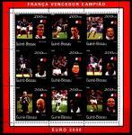Гвинея-Бисау 2001 год. Чемпионат мира по футболу во Франции. Малый лист