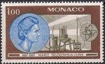 Монако 1967 год. 100 лет со дня рождения Марии Кюри. 1 марка