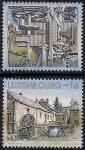 Люксембург 1997 год. Водяные мельницы. 2 марки