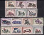 Монако 1961 год. Автомобили ретро. 14 марок