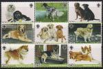 Бенин 2005 год. Собаки. 9 марок