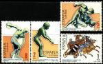 Испания 1984 год. Летняя Олимпиада в Лос-Анжелесе. 4 марки.(н