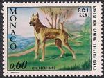 Монако 1972 год. Выставка собак в Монте-Карло. 1 марка