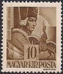 Венгрия 1943 год. Фельдмаршал граф Андрес Хадик (1710-1790). 1 марка из серии