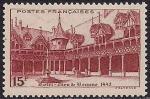 Франция 1941 год. Старый замок в Анже (ном. 15). 1 марка из серии