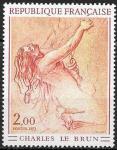 Франция 1973 г., Искусство, Картина Шарля Лебрена, 1 марка