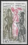 Франция 1972 г., История французской моды, 1 марка