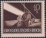 Германия (Рейх) 1944 год. День Вермахта.  Прожектор (10+5). 1 марка из серии