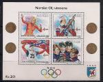 Норвегия 1989 год. Норвежские олимпийские чемпионы, участники зимних Олимпийских игр разных лет. Блок