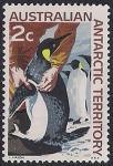 Австралийские Антарктические территории 1966 год. Пингвины. 1 марка из серии (ном 2)