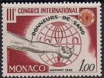 Монако 1962 год. Международный Конгресс доноров. 1 марка