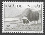 Гренландия 1969 год. Стандарт. Дикая природа Гренландии, 1 марка