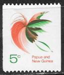 Папуа Новая Гвинея 1969 год. Райская птица, 1 марка