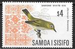 Самоа 1969 год. Стандарт. Птица, 1 марка