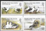 Фолклендские острова 1985 год. Альбатрос, птицы, 4 марки