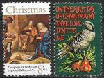 США 1971 год. Рождество, 2 марки