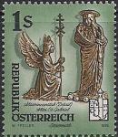 Австрия 1995 год. Скульптуры монастырей Бенедиктского Ордена. 1 марка