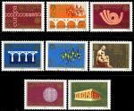 Сербия и Черногория 2005 год. 50 лет почтовым маркам ЕВРОПА. 8 марок
