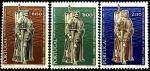 Португалия 1969 год. 200 лет Сан Диего. Калифорния. 3 марки