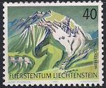 Лихтенштейн 1991 год. Горный пейзаж. 1 марка