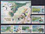 Куба 2007 год. Фауна морей и рек (186.4932). 6 марок + блок