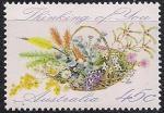 Австралия 1992 год. Поздравление. 1 марка