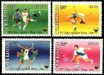 "Узбекистан 2006 год. 15-е Азиатские игры ""Доха-2006"". 4 марки (н"