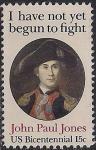 США 1979 год. Джон Пол Джонс - герой войны за независимость. 1 марка