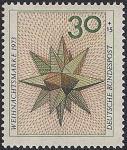 ФРГ 1973 год. Рождество. Вифлеемская звезда. 1 марка