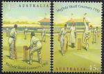 Австралия 1992 год. 100 лет крикету в Австралии. 2 марки