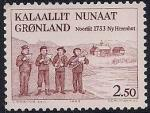 Гренландия (Дания) 1983 год. 250 лет прибытия миссионеров в Гренландию. 1 марка