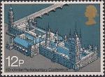 Великобритания 1975 год. Конференция Европарламента. 1 марка