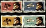 Португалия 1969 год. 100 лет со дня рождения португальского гидрографа Гагу Коутинью. 4 марки
