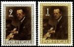 Португалия 1969 год. 100 лет со дня рождения португальского композитора Жозе Виана да Мотта. 2 марки