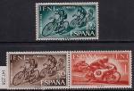 Ифни (Марокко) 1964 год. Вело- и мотоспорт. 3 марки (.(