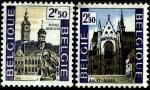 Бельгия 1971 год. Достопримечательности. 2 марки