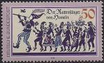 ФРГ 1978 год. Крысолов из Гамельна. 1 марка