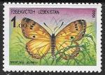 Узбекистан 1992 год. Бабочка, 1 марка