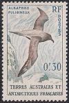 Французские Антарктические территории 1959 год. Альбатросы. 1 марка из серии (ном 0.3)