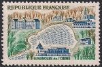 Франция 1961 год. Курорт Баньоль-де-лОрн. 1 марка