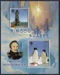 Мали 2007 год. Мореплаватель Ф. Беллингсгаузен. Маяк. Пингвины. 1 блок