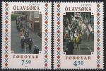 Фарерские острова (Дания) 1998 год. Европа. Национальные фестивали и праздники. 2 марки