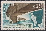 Франция 1966 год. Мост через Понт-д-Олерон. 1 марка