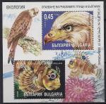 Болгария 2004 год. Пернатая и морская фауна. Блок (н
